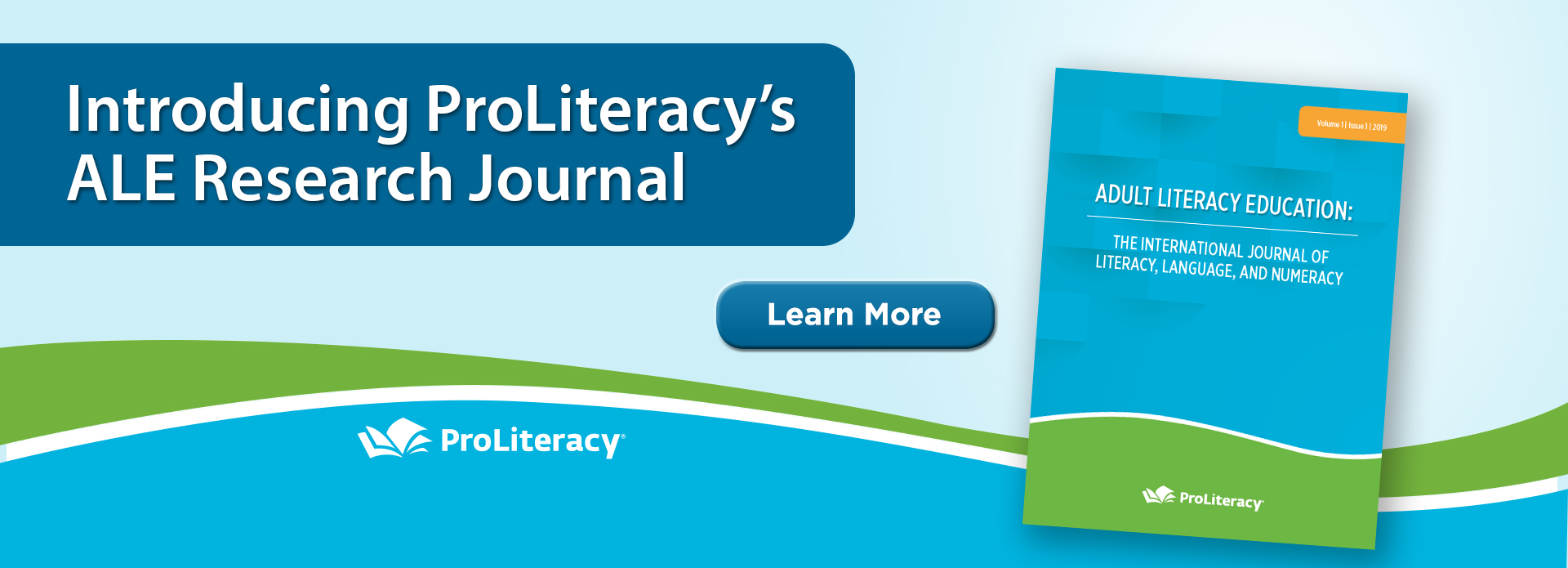 ProLiteracy's Adult Literacy Education Research Journal