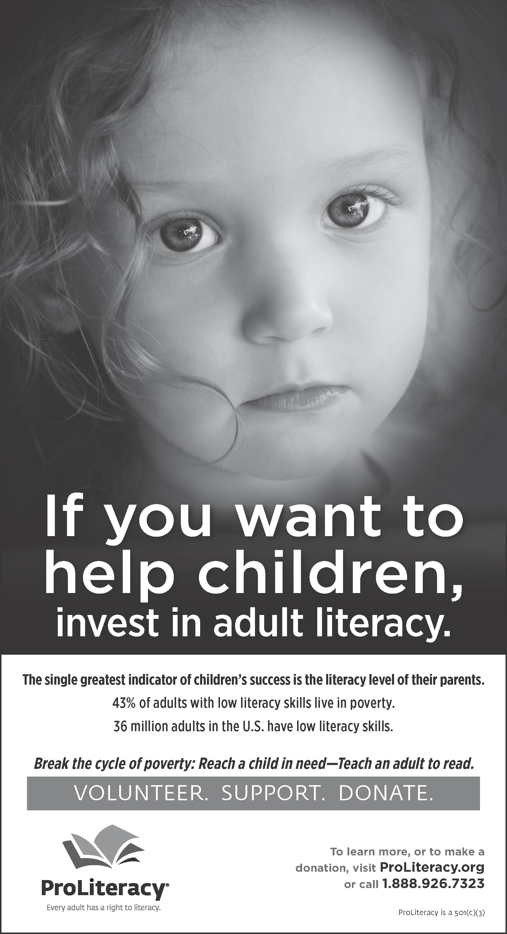 ProLiteracy New York Times literacy advertisement
