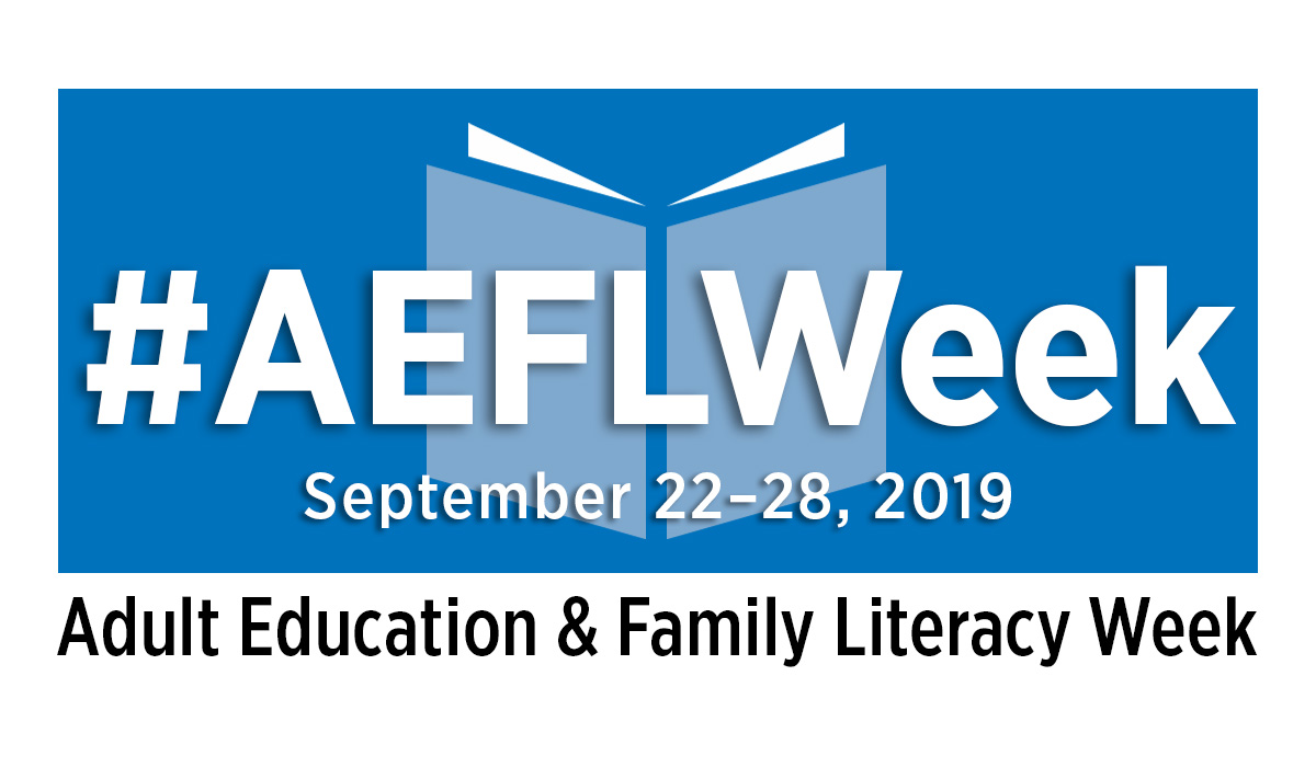 Adult Education and Family Literacy Week 2019