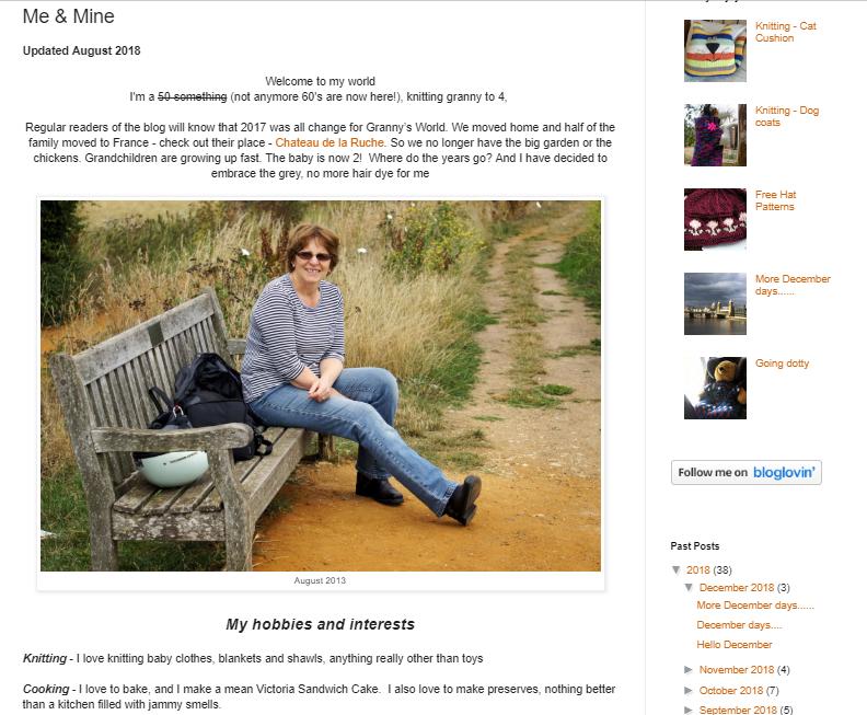 Me & Mine Blog