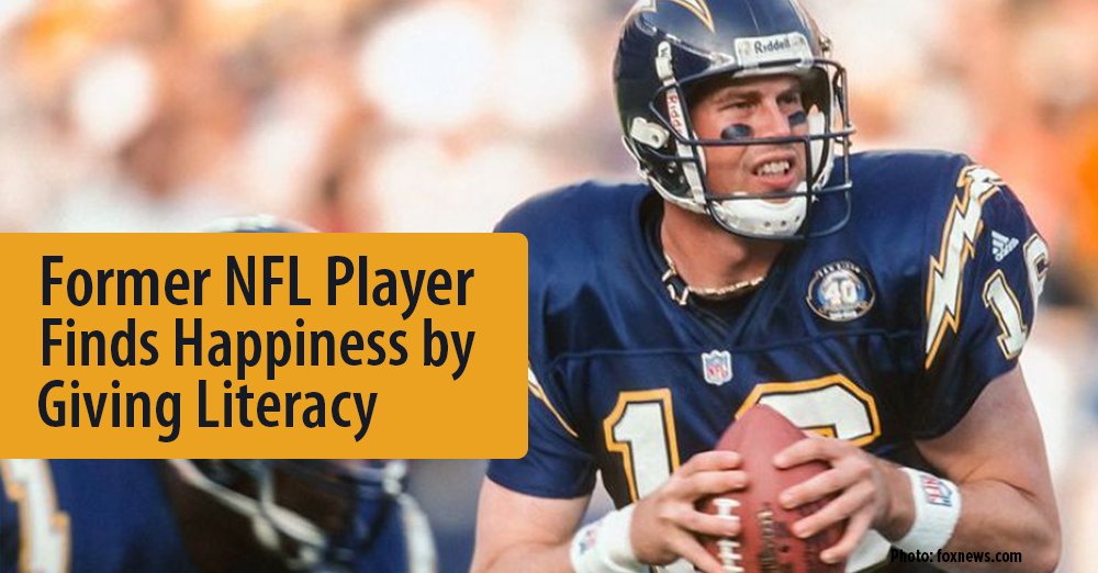 Former NFL Player, Ryan Leaf, Finds Happiness by Giving Literacy