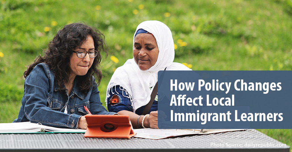 Immigrants being affected by policy change