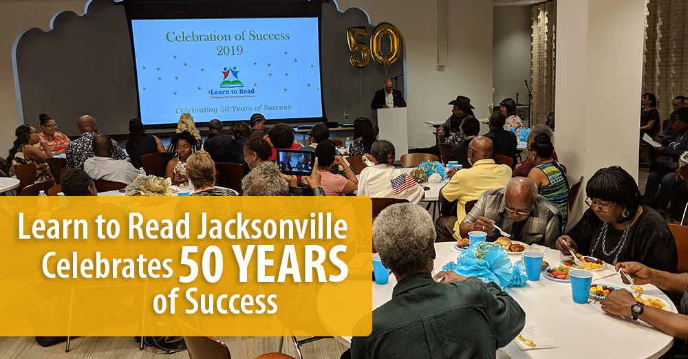 Learn to Read Jacksonville Celebrates 50 Years of Success
