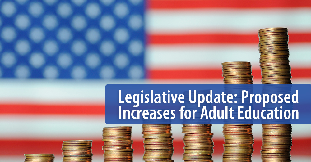 Proposed Increases for Adult Education