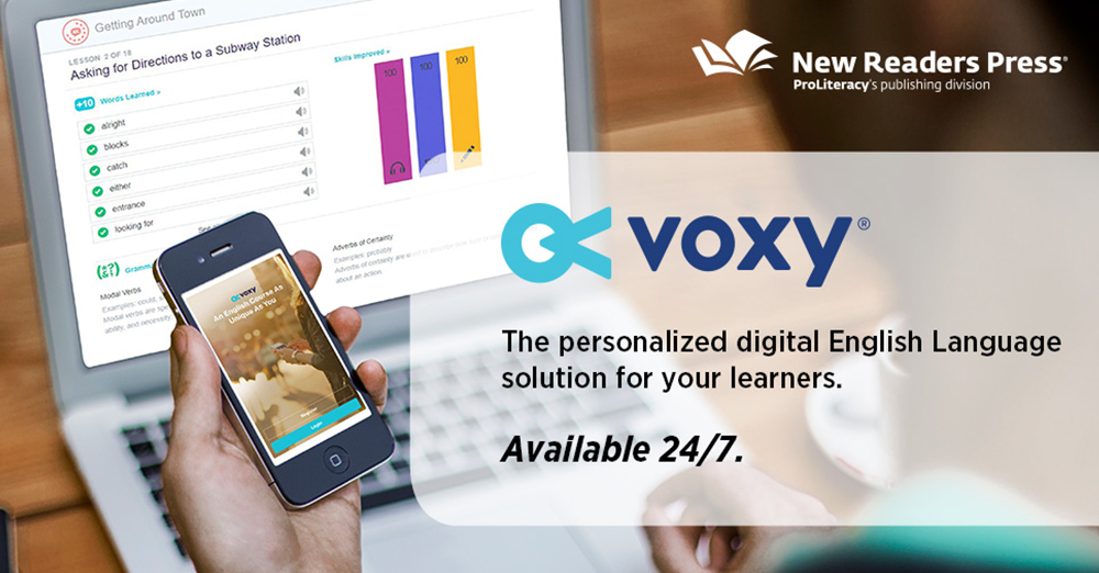 ProLiteracy Partners with Voxy® to Help Non-native Speakers Learn How to Read English
