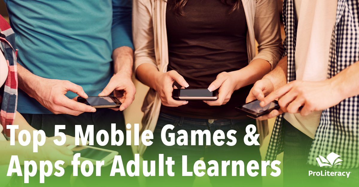 Top 5 Mobile Games and Apps for Adult Learners