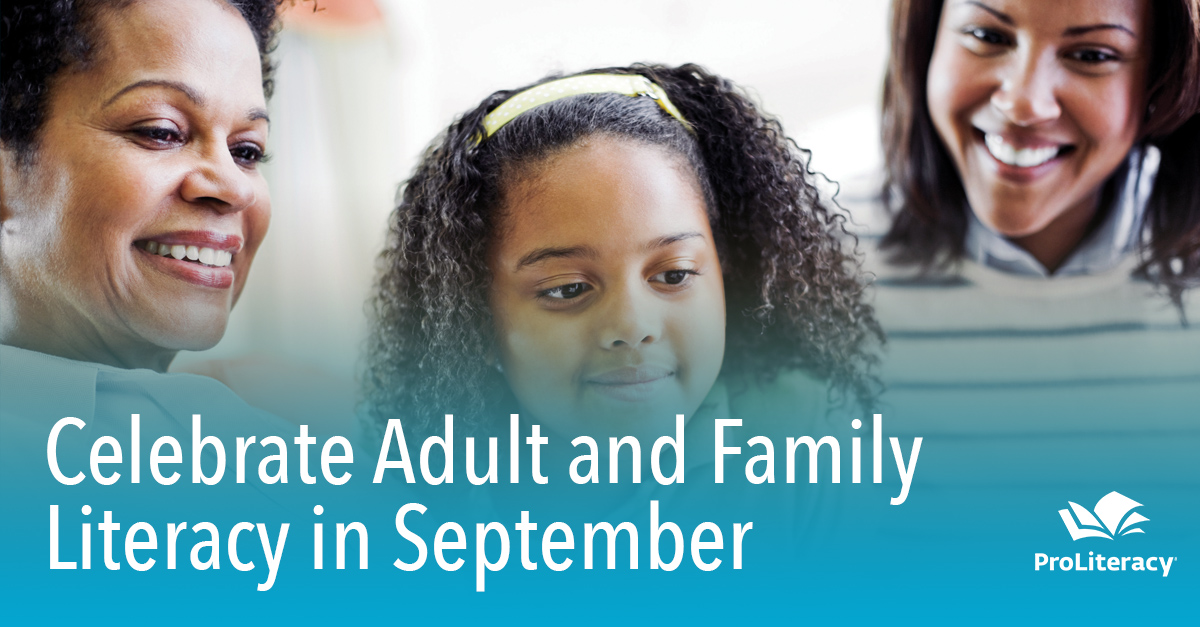 Celebrate Adult and Family Literacy in September
