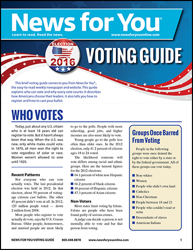 News For You Voting Guide