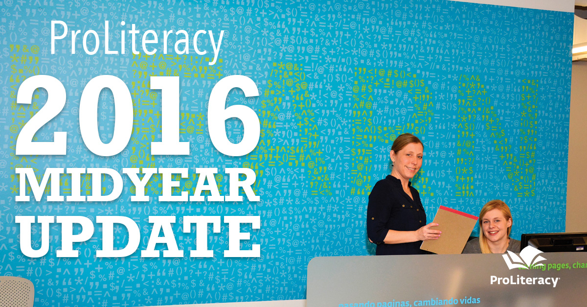 ProLiteracy 2016 Midyear Update