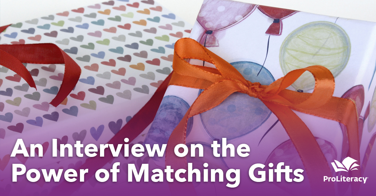 An Interview on the Power of Matching Gifts