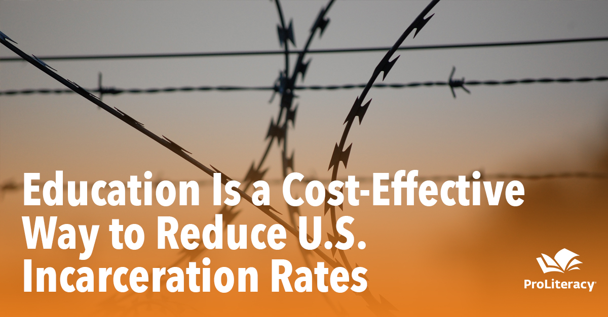 Education Is a Cost-Effective Way to Reduce U.S. Incarceration Rates