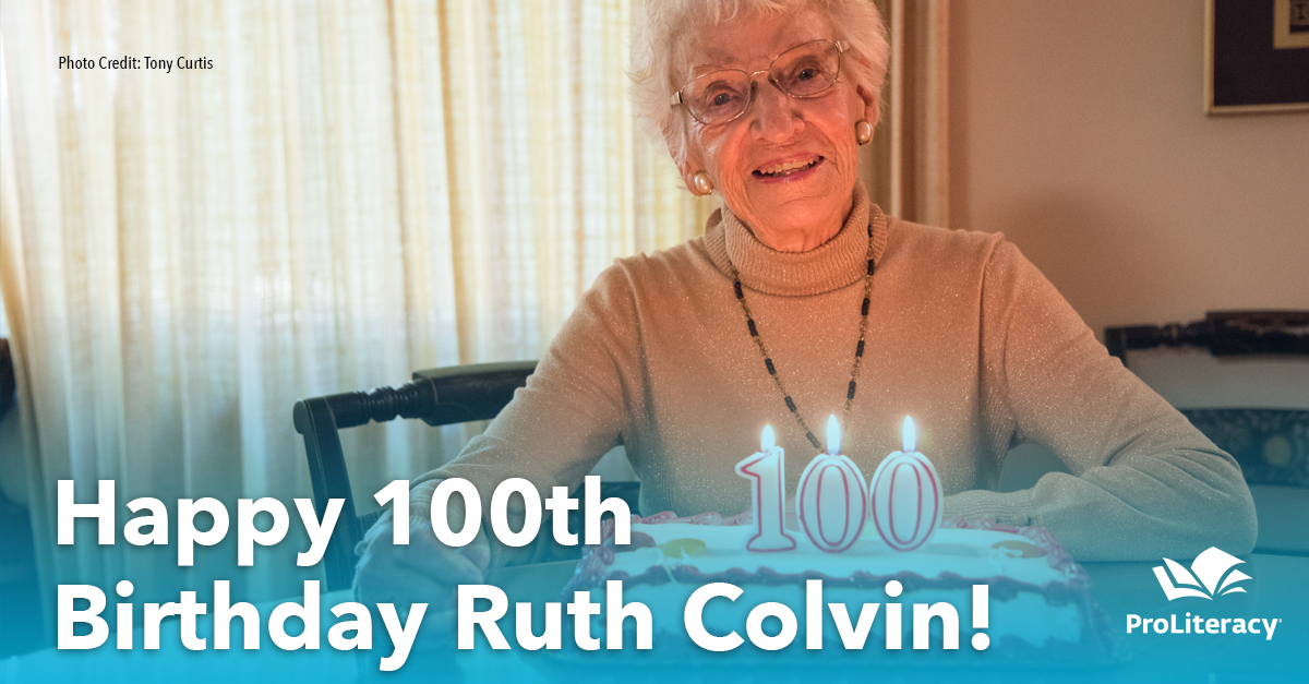 Happy 100th Birthday Ruth Colvin!