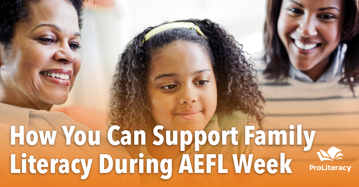 How You Can Support Family Literacy During AEFL Week