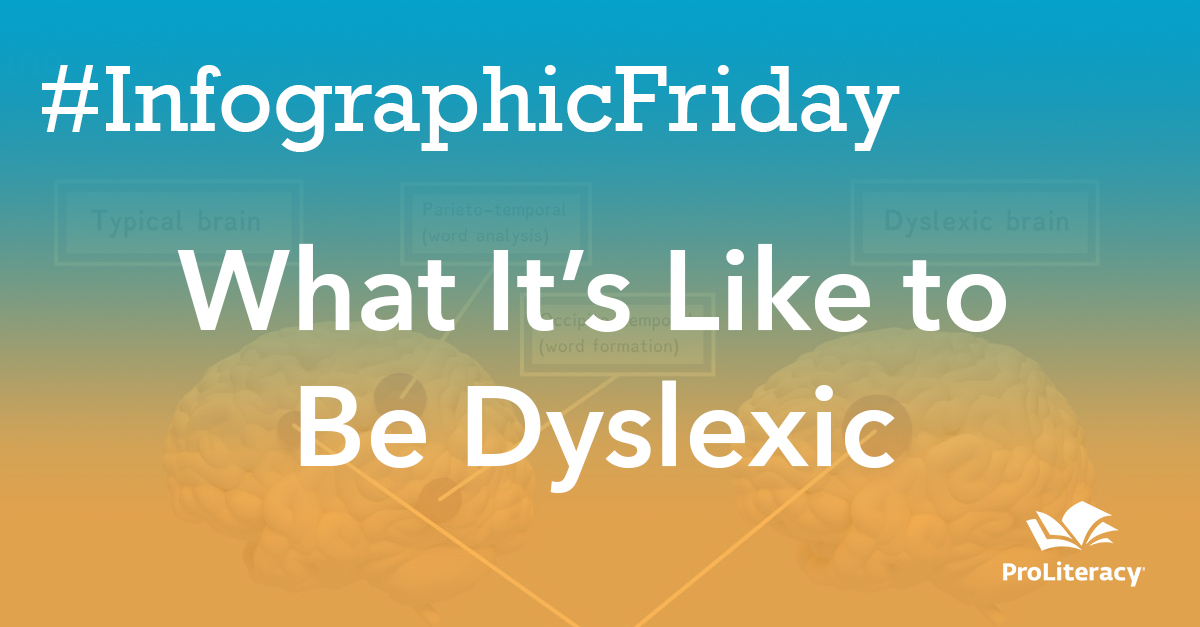 #InfographicFriday: What It's Like to Be Dyslexic