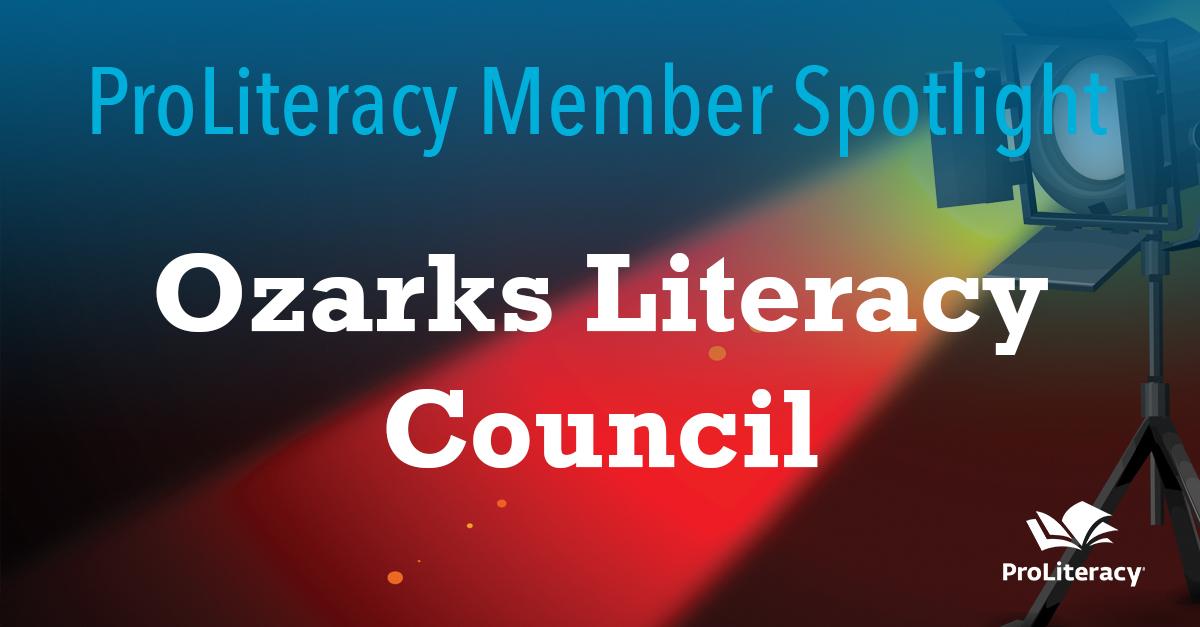ProLiteracy Member Spotlight: Ozarks Literacy Council