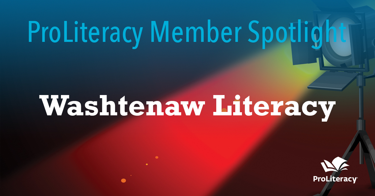 ProLiteracy Member Spotlight: Washtenaw Literacy