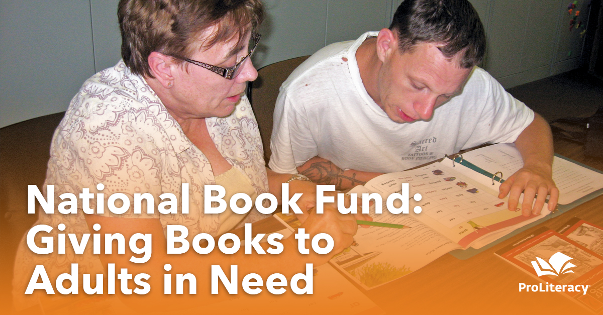 National Book Fund: Giving Books to Adults in Need
