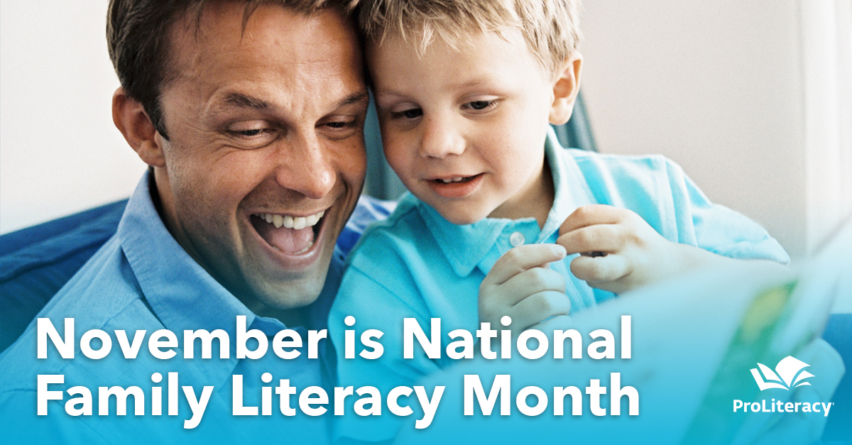November is National Family Literacy Day