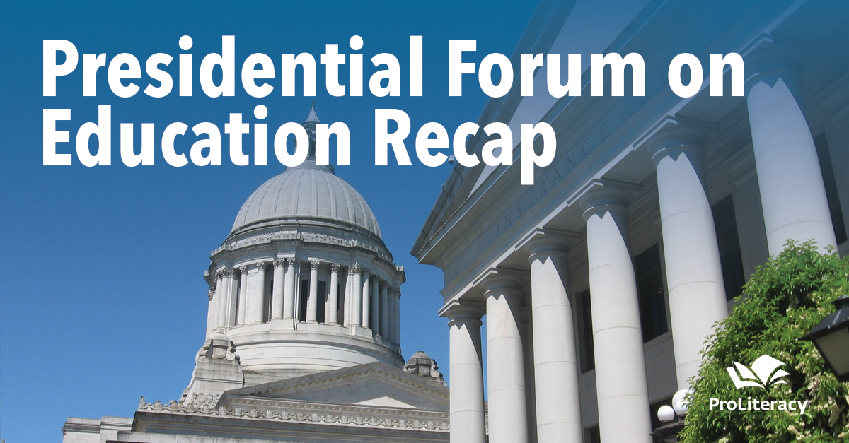 Presidential Forum on Education Recap
