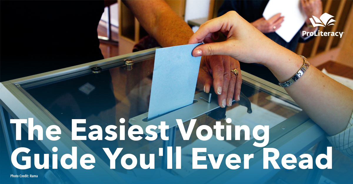 The Easiest Voting Guide You'll Ever Read