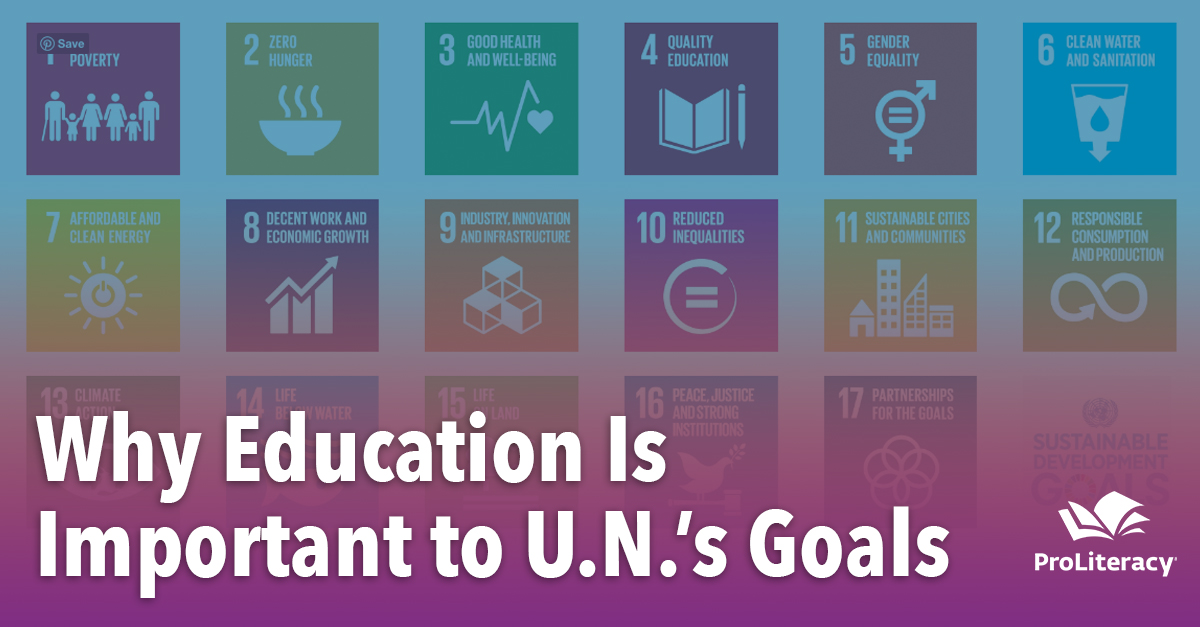 Why Education Is Important to U.N.'s Goals