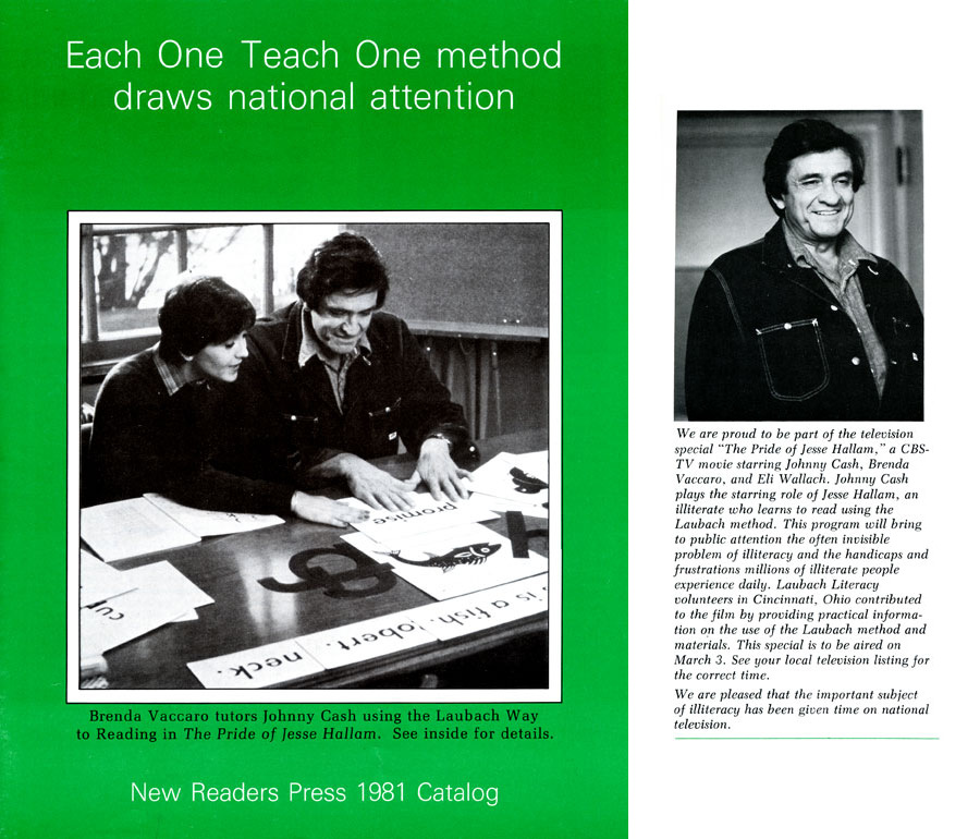 Television movie using the Each One Teach One method aired 35 years ago today.