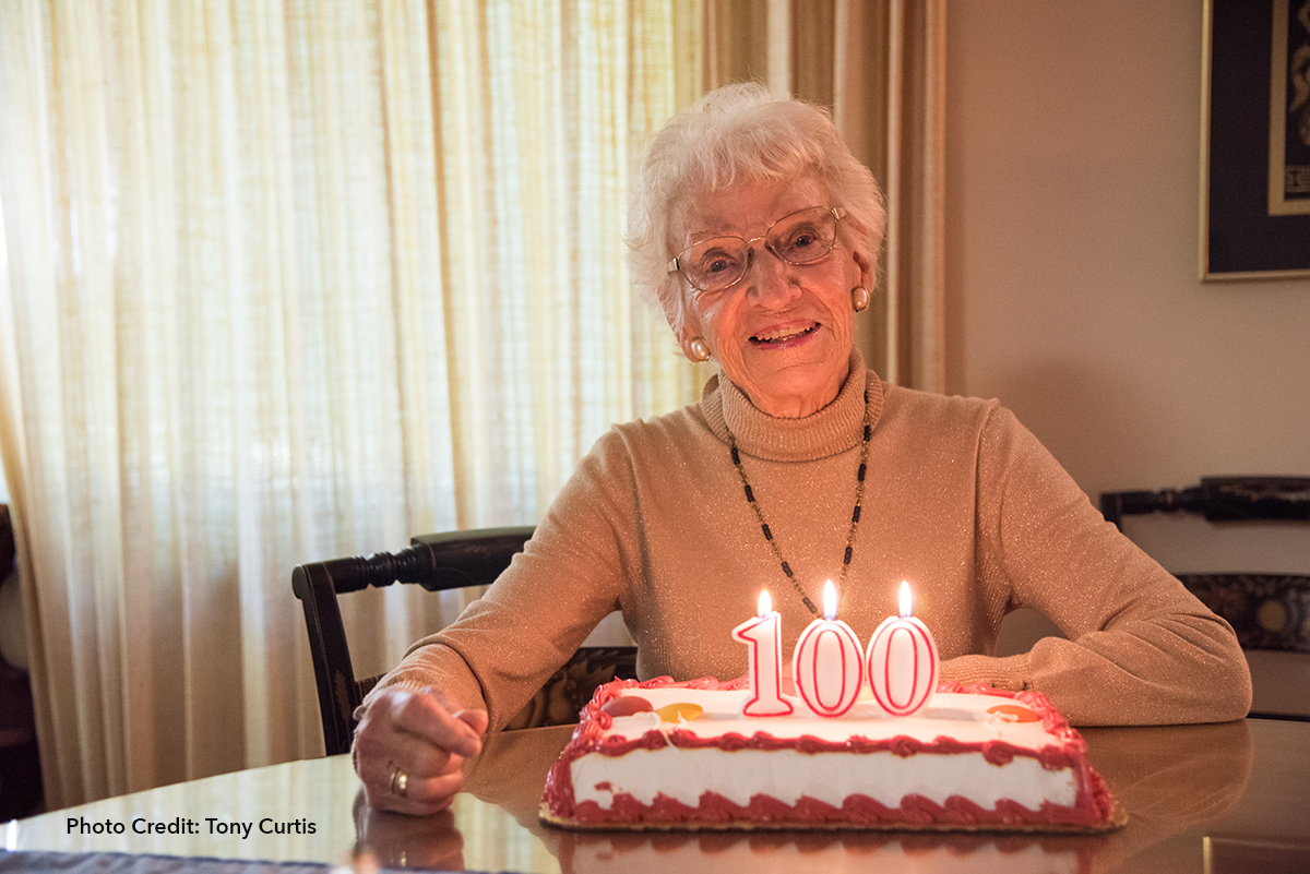 Ruth Colvin, literacy pioneer, turns 100