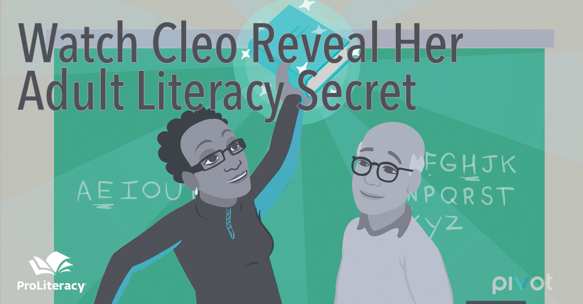 Watch Cleo Reveal Her Adult Literacy Secret on Pivot TV