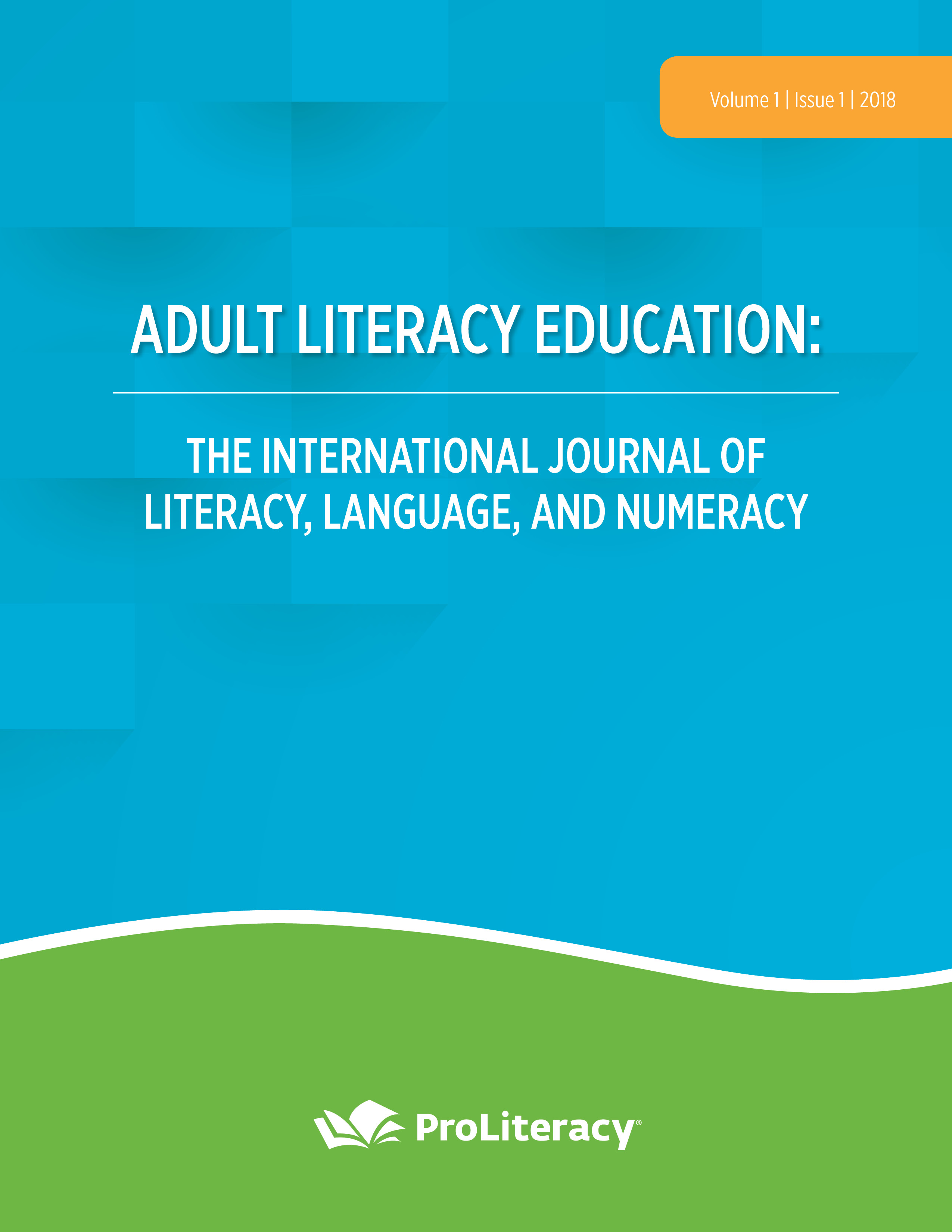ProLiteracy Adult Literacy Education Journal
