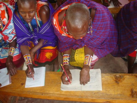 Adult learners from Naivasha