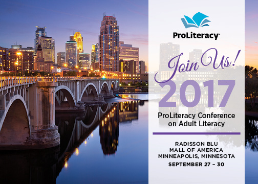 ProLiteracy Conference on Adult Literacy 2017