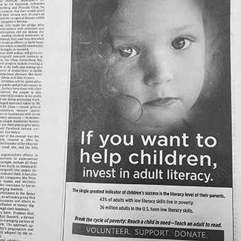 Spread the Word About Literacy