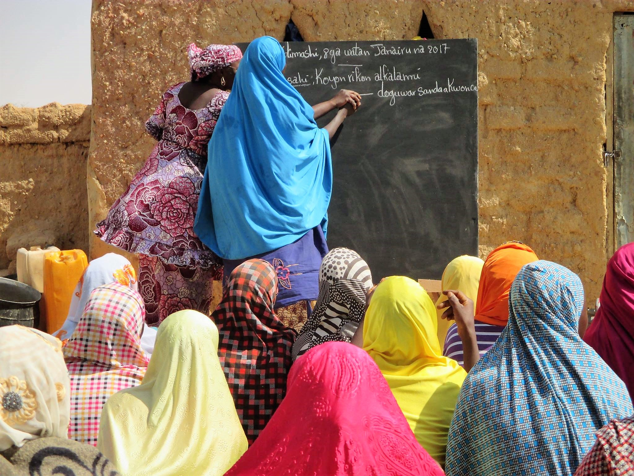 Niger_literacy classes